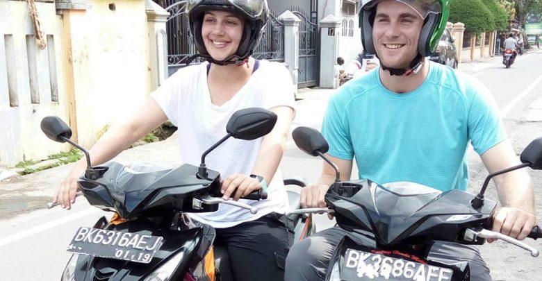 motorbike rental in medan